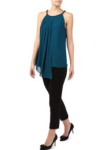 Jacques Vert Neck Trim Top