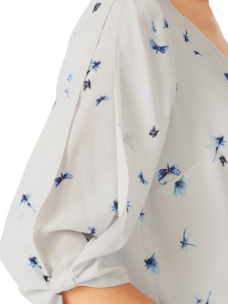 Jacques Vert Dragon Fly Blouse