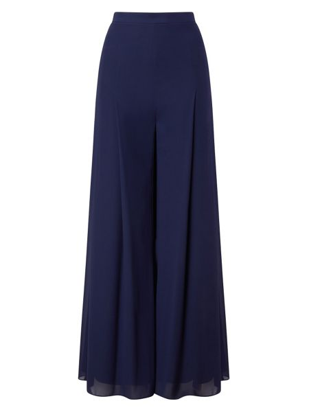Jacques Vert Chiffon And Jersery Lined Trs