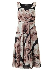 Jacques Vert Printed Prom Dress