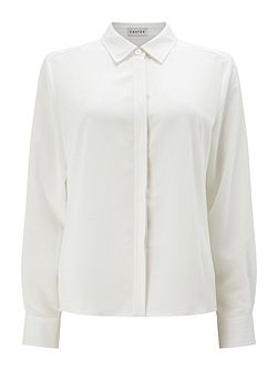 Long Sleeve Collar Blouse