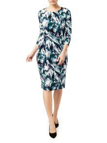 Eastex Artisan Print Dress