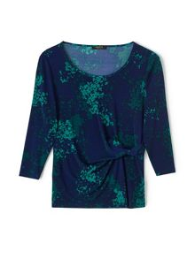 Precis Petite Bethany Jersey Printed Top