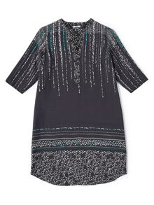Dash Nothern Lights Print Dress