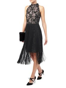 Jacques Vert Fringe Dress