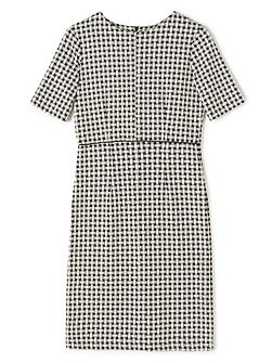 Jade Jersey Check Dress