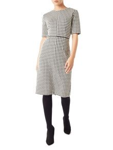 Precis Petite Jade Jersey Check Dress