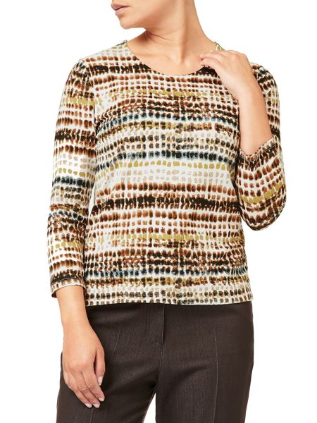 Eastex Palette Stripe Jersey Top