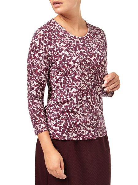Eastex Winterbourne Petal Jersey Top