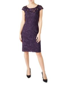 Jacques Vert Petite Lace Shift Dress
