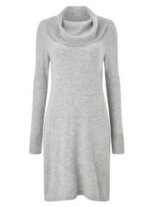 Precis Petite Becca Wool Cowl Neck Dress