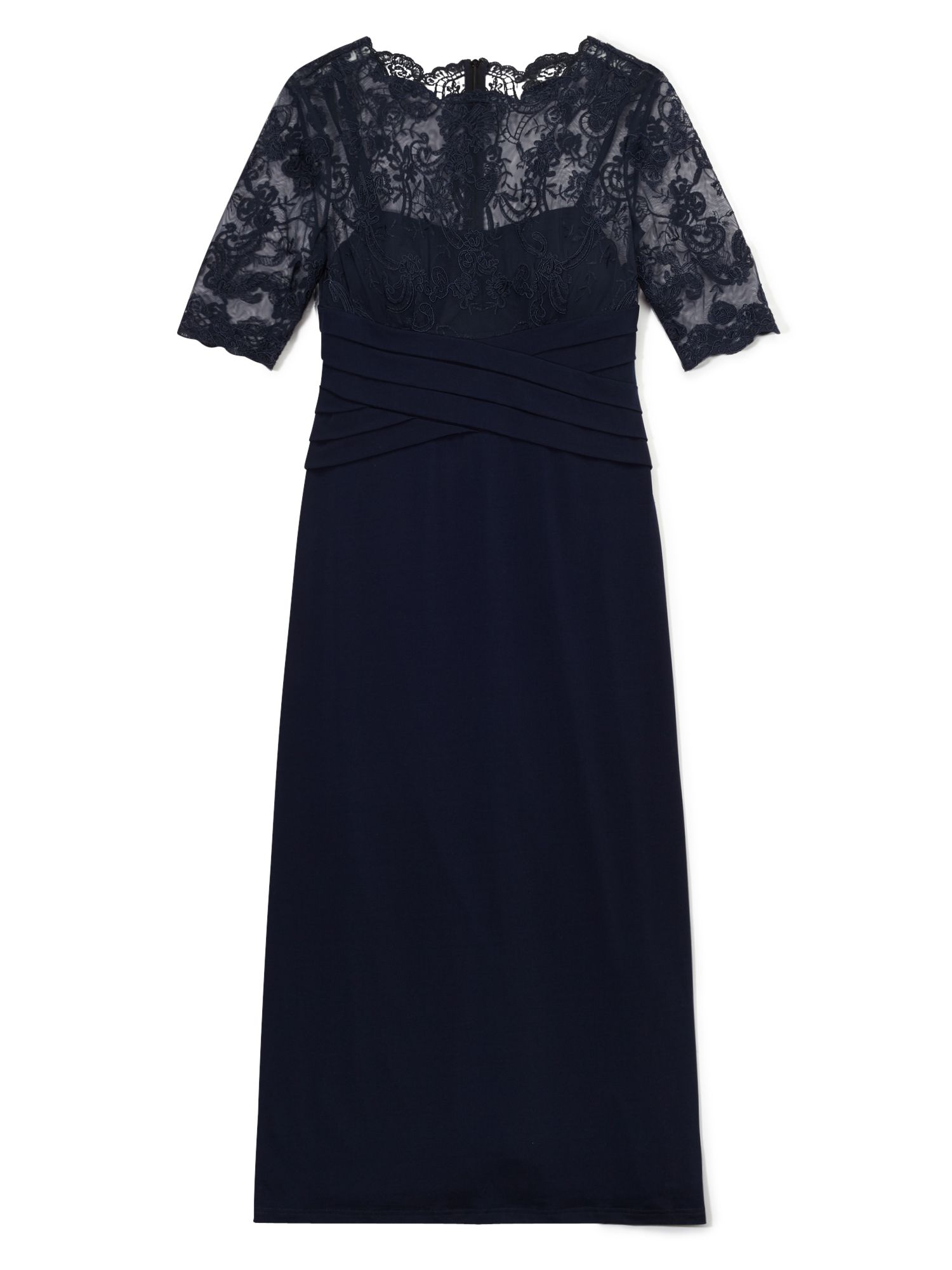 Precis Petite Ally Lace Maxi Dress, Blue