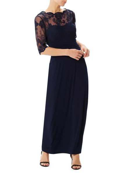 Precis Petite Ally Lace Maxi Dress