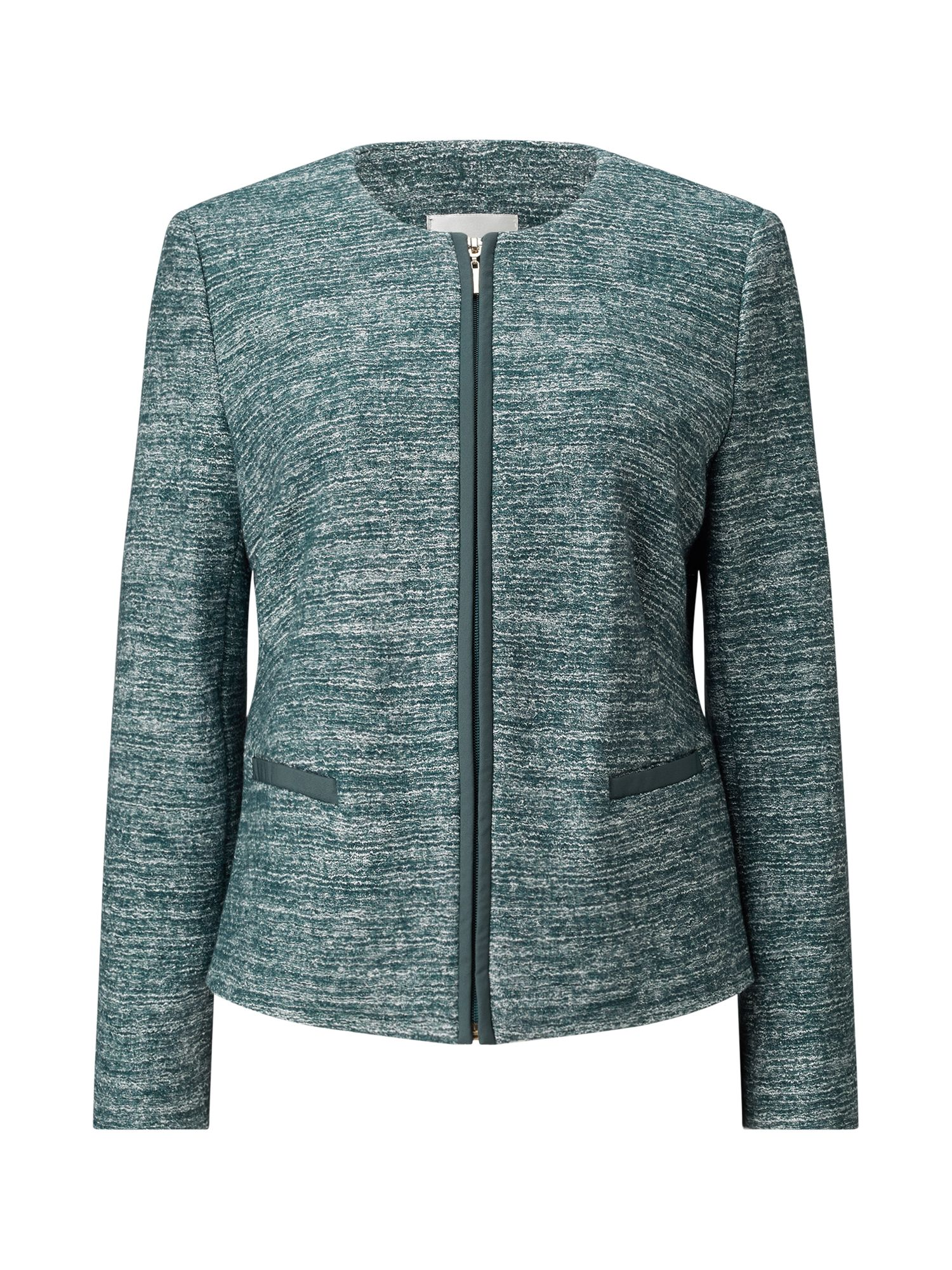 Eastex Eastex Two Tone Knitted Jacket, Multi-Coloured