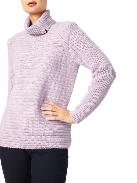 Dash Zip Cowl Jumper