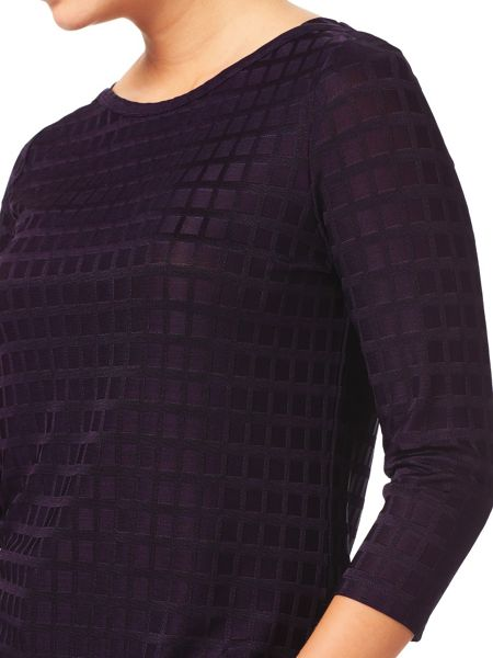Eastex Shimmer Squares Top