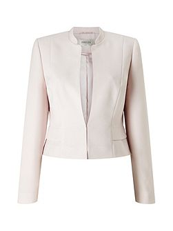 Amelia Blush Crop Jacket