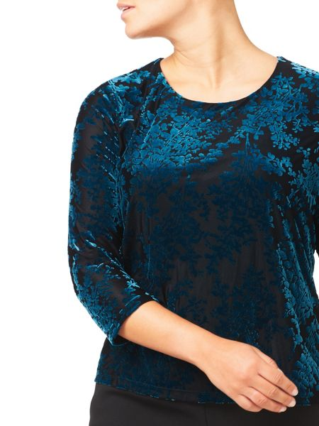 Eastex Devore Velvet Top