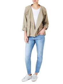 Dash Short Linen Tencel Coat