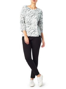 Dash Lunar Texture Burnout Top