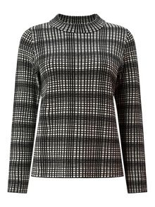 Eastex Jacquard Square Knit Jumper