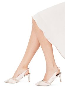 Jacques Vert Piped Point Shoe