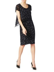 Jacques Vert Spot Layers Dress
