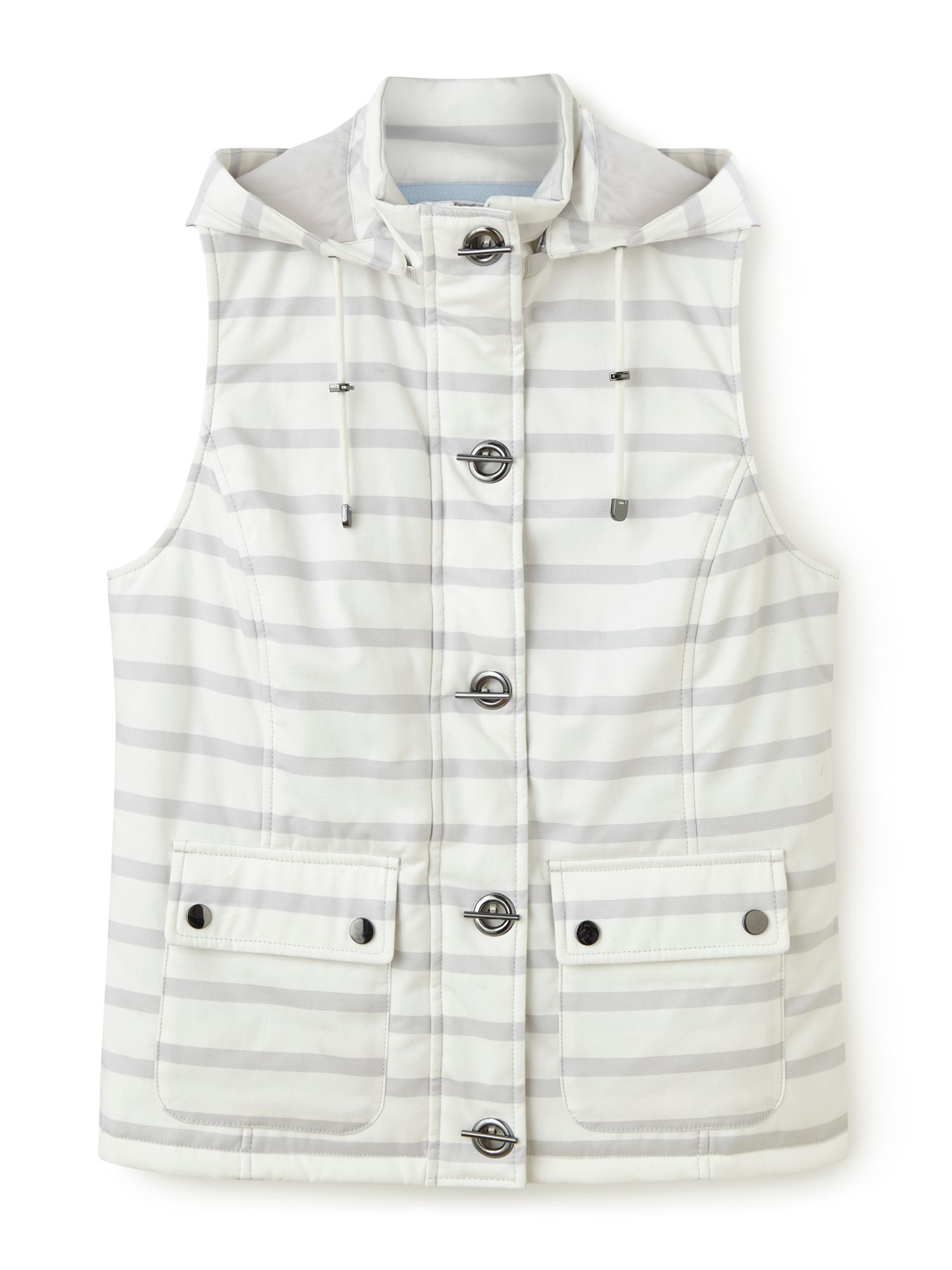 Dash Stripe Gilet Neutral, Neutral