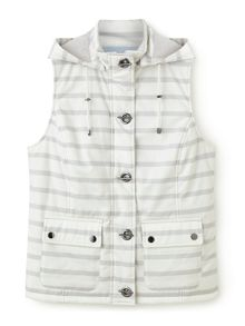 Dash Stripe Gilet Neutral