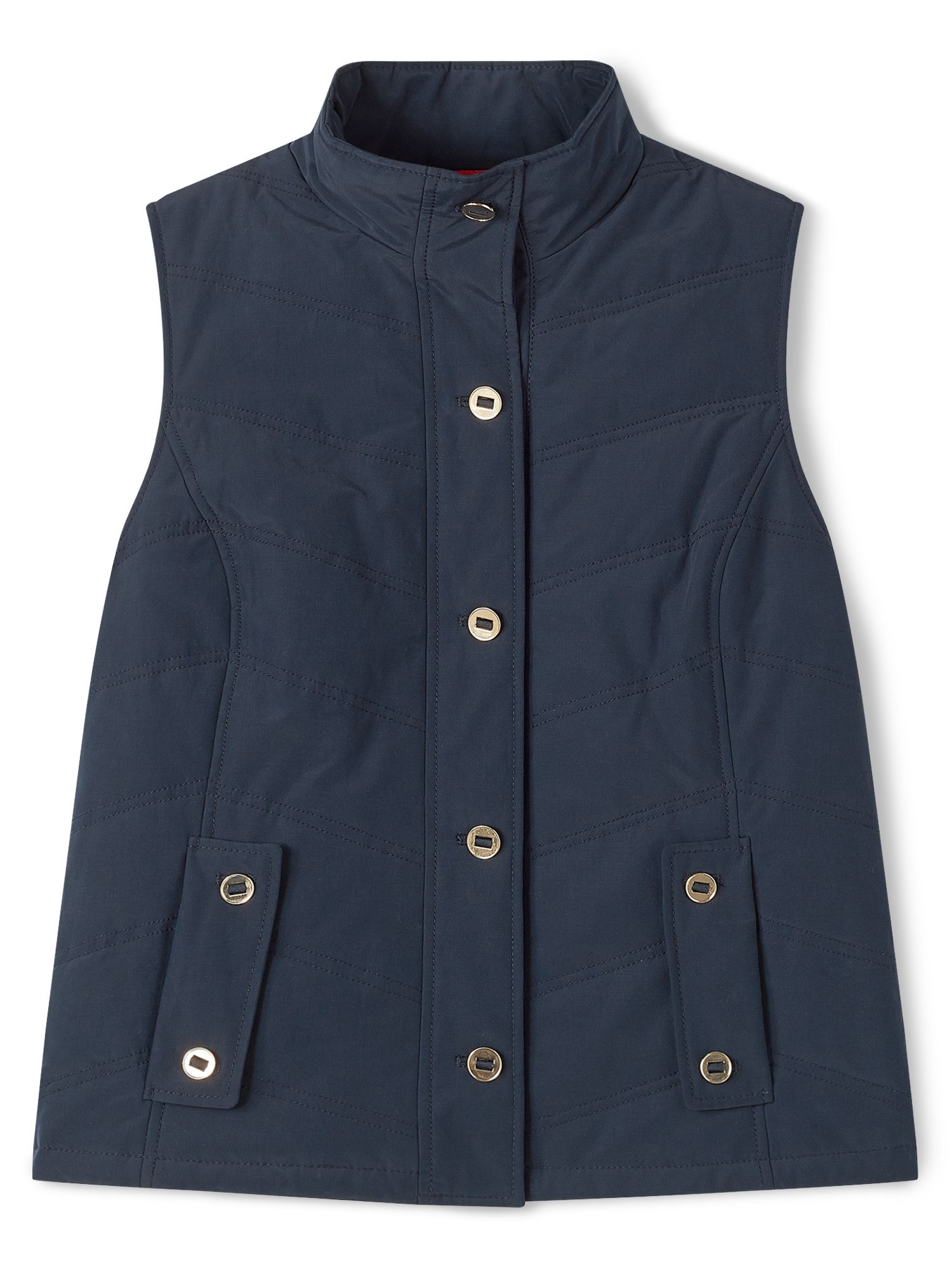 Dash Navy Padded Gilet, Blue