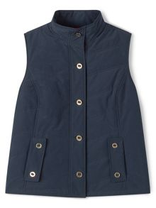 Dash Navy Padded Gilet