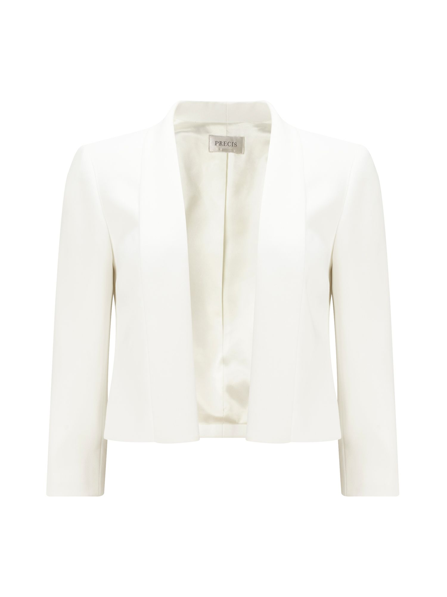 Precis Petite Petite Philippa Cropped Jacket, Neutral