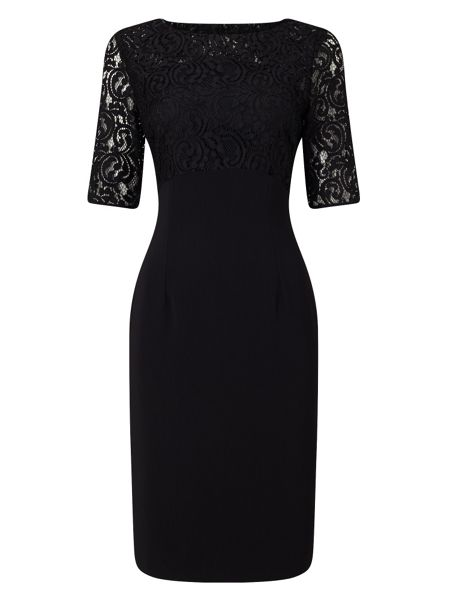 Jacques Vert Lace Top Dress