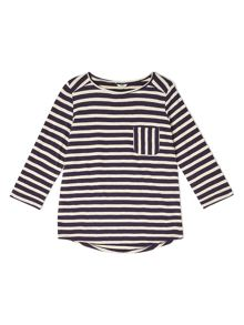 Dash Cutabout Stripe Jersey Top
