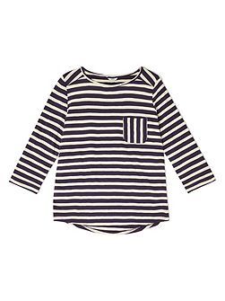 Cutabout Stripe Jersey Top
