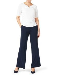 Jacques Vert Sophisticated Crepe Trouser