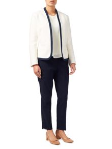 Eastex Contrast Tipped Jacket
