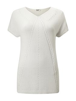 Pointelle Relaxed Jumper