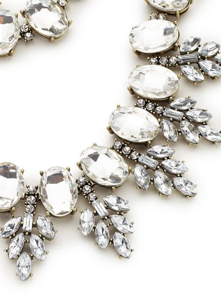Jacques Vert Crystal Stone Necklace