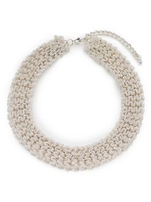 Jacques Vert Woven Beaded Necklace