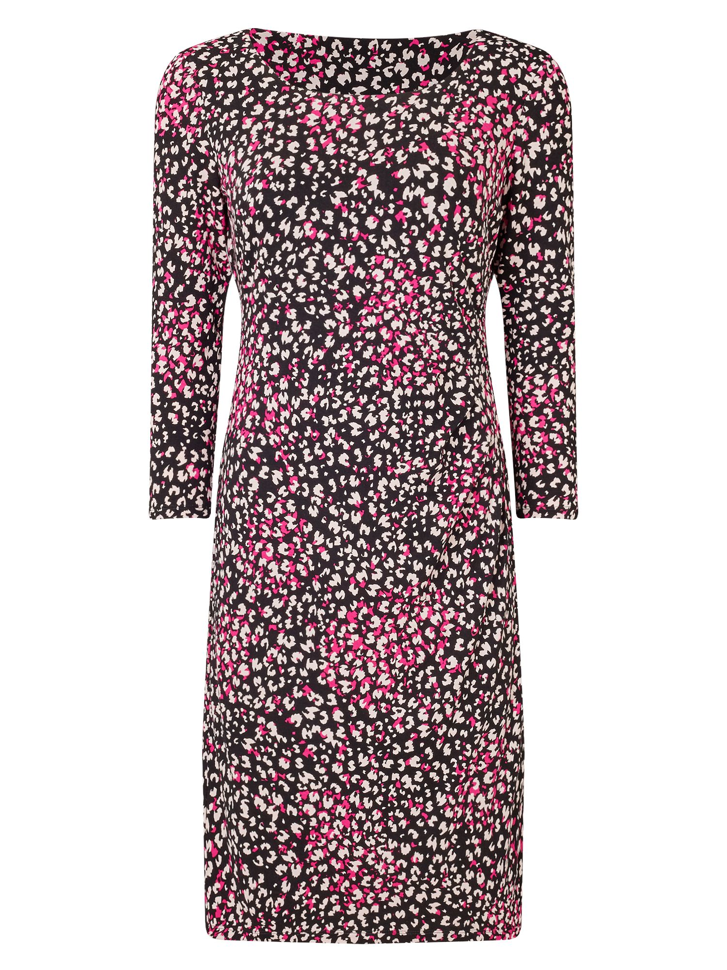 Precis Petite Harlie Abstract Animal Dress, Multi-Coloured
