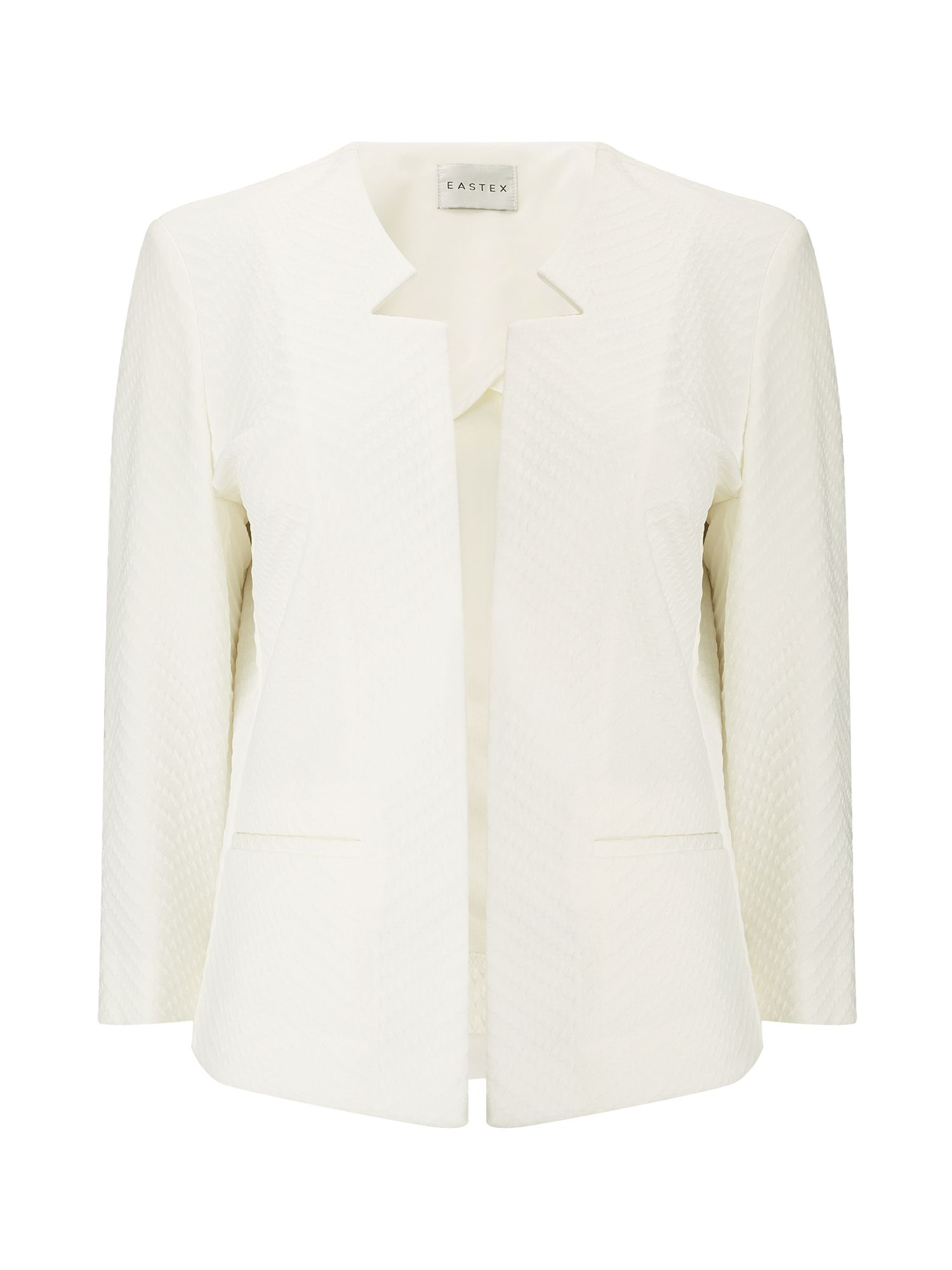 Eastex Edge To Edge Ponte Jacket, Neutral