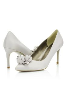 Jacques Vert Flower Point Court Shoe
