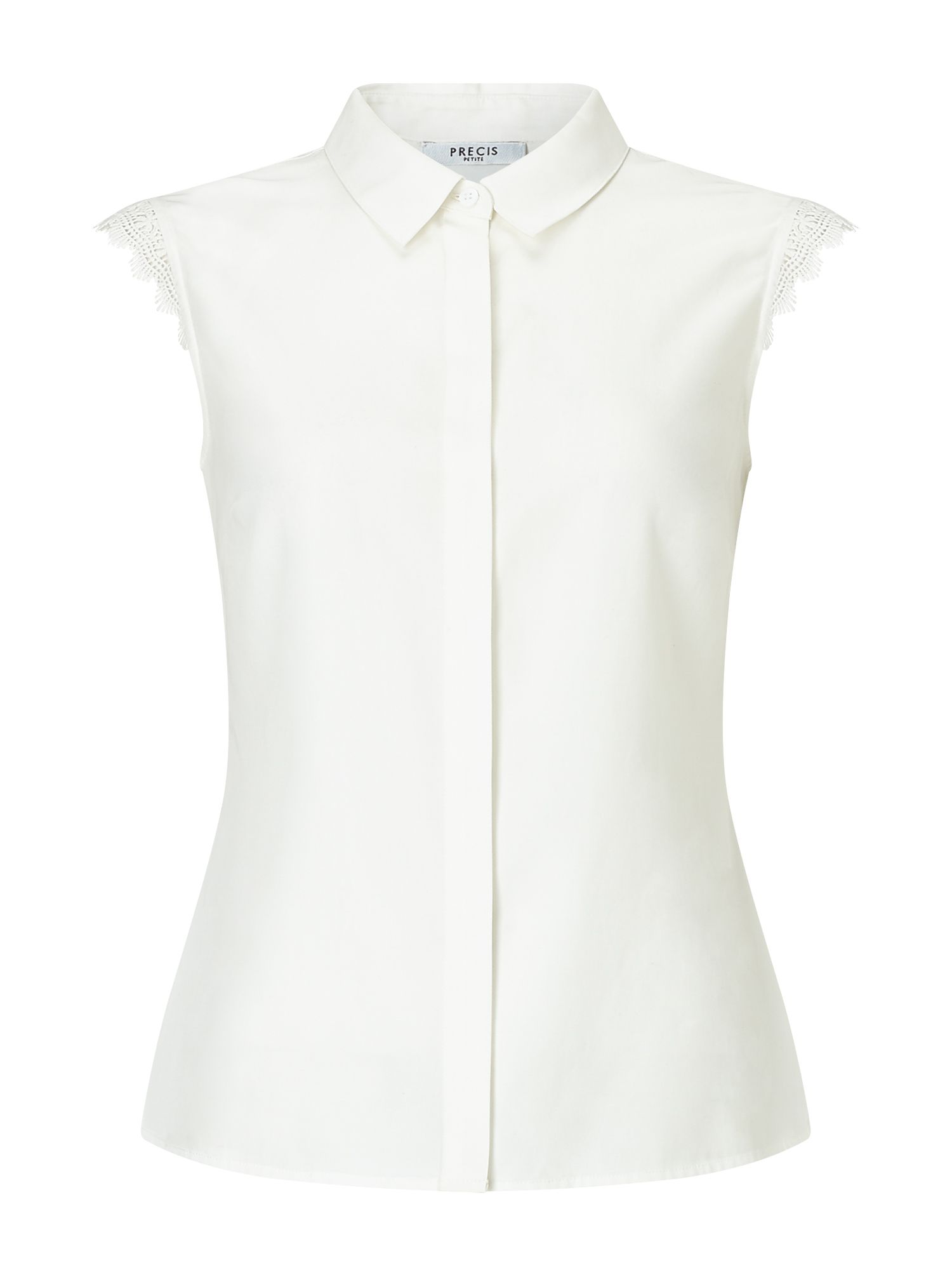 Precis Petite Petite Lilly Sleeveless Blouse, Neutral