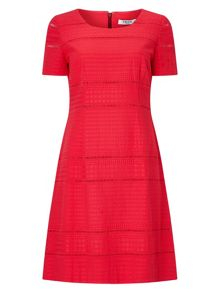 Precis Petite Emilie Coral Lace Dress