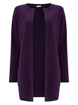 Longline Edge To Edge Cardigan