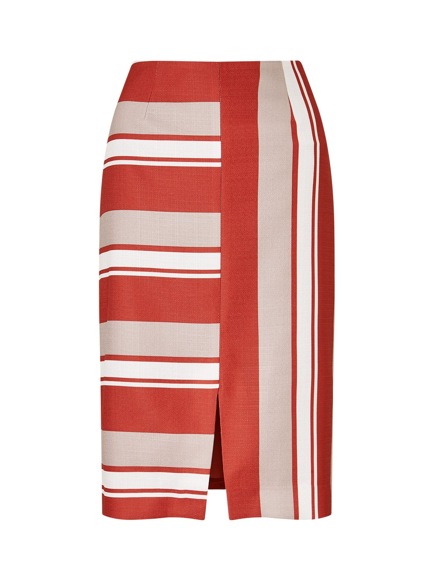Eastex Cutabout Stripe Skirt, Red