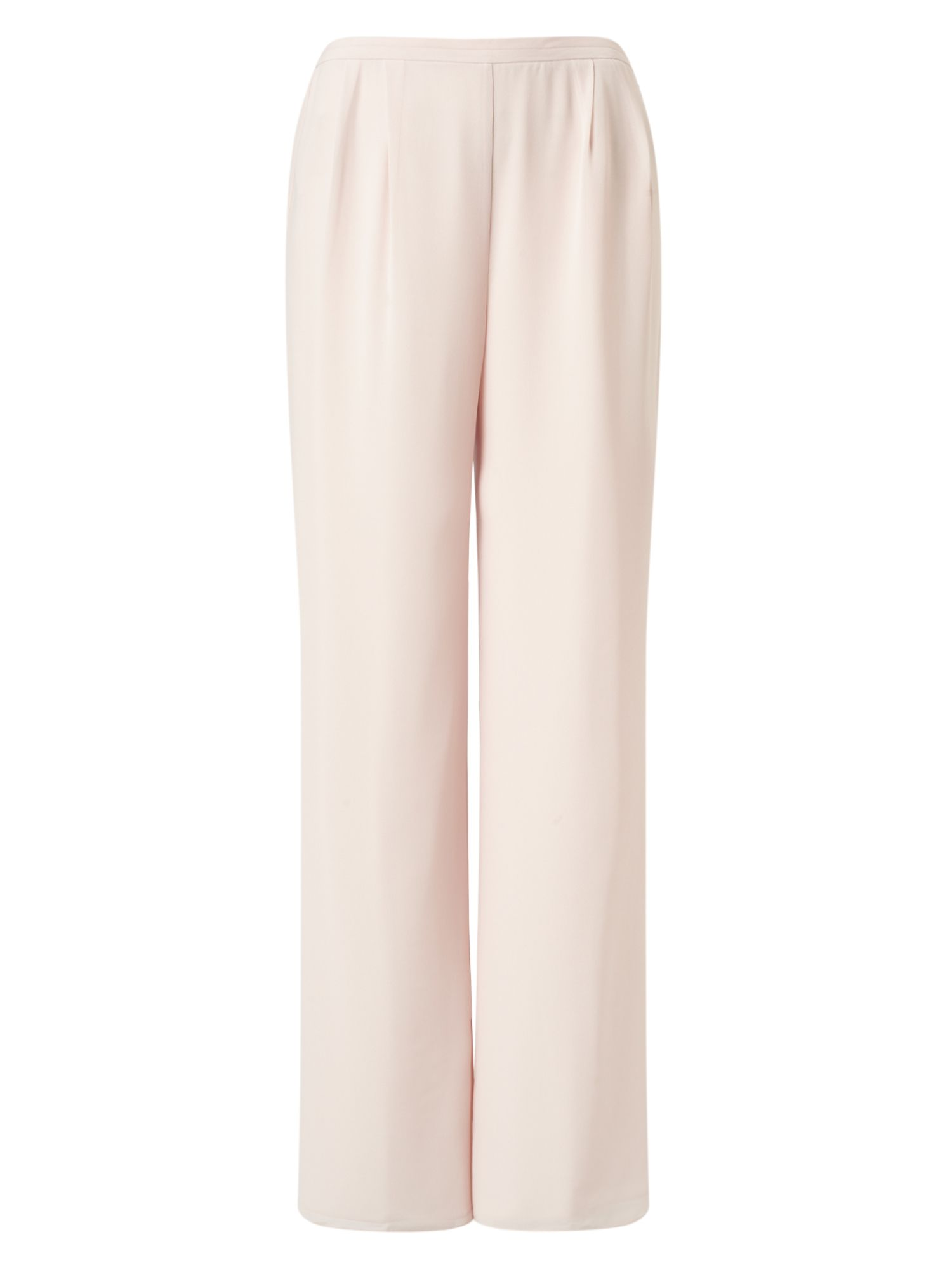 Jacques Vert Chiffon Straight Trouser, Neutral