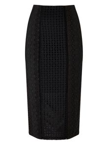 Precis Petite Elora Embroidery Pencil Skirt