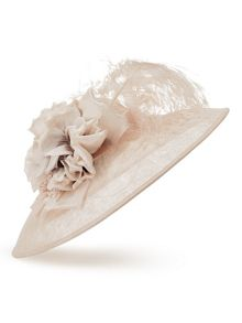 Jacques Vert Two Tone Flower Hat